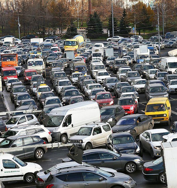 北京堵车高峰_五彩俄罗斯——北京也算堵?世界最堵莫斯科时刻都是停车场(组图)