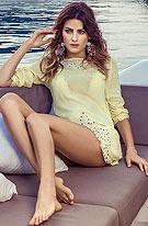 性感名模游艇奢华写真