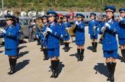 深入朝鲜拍到的女子军乐团