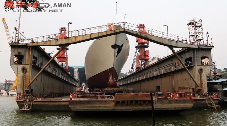 新一艘054A舰下水总数已达19艘