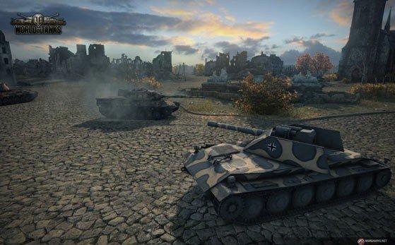 《坦克世界》韩服更新8.9版本 新战场新研发登场