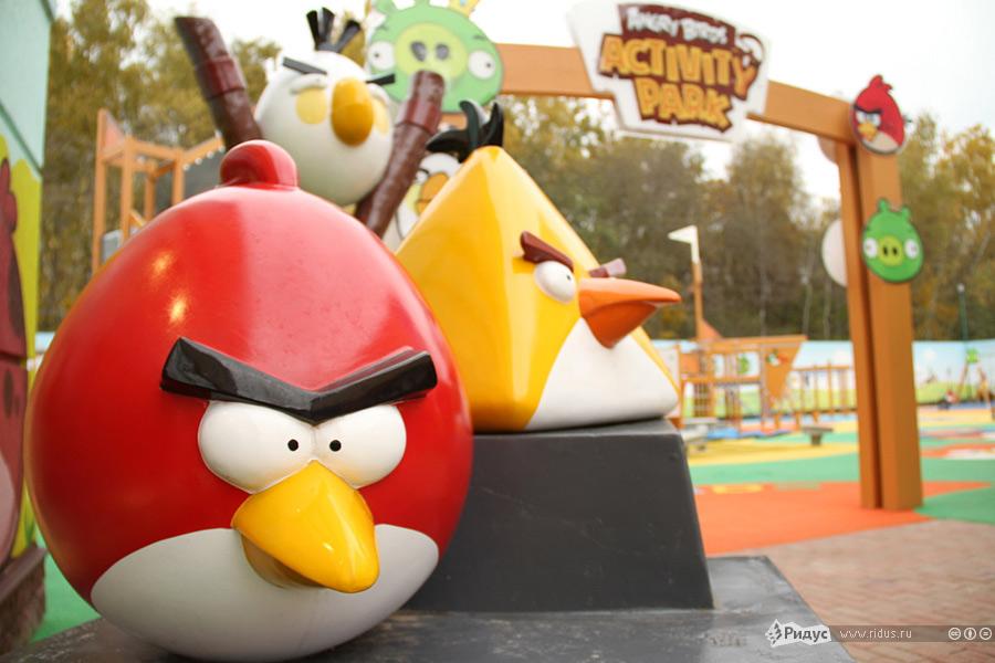 """愤怒的小鸟 主题公园_""""愤怒的小鸟""""主题公园在中俄广受欢迎_博览_环球网"""