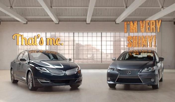 林肯推出妙趣广告 宣传mkz轿车高清图片