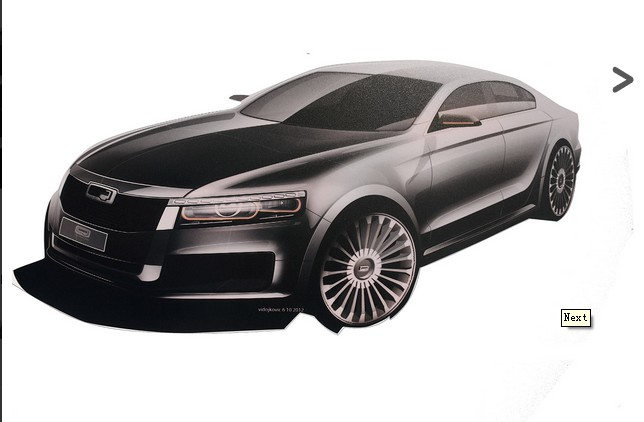 观致大型轿车设计草图   从上面的设计草图可以看出,观致已经开始了一款大型轿车与另一款七座SUV的初期研发工作。这两款车对中国市场都很重要。   观致的战略关键是采用超灵活的架构和零部件共享,显著减少投资和降低生产复杂性。   例如,观致只提供两种1.6升汽油发动机(涡轮增压发动机和自然吸气发动机)和两种变速器(6档手动变速器和6档双离合自动变速器)。   观致公司称,截至目前为止,公司投资不超过6亿英镑(约合58.