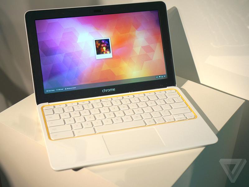 谷歌/无风扇设计 谷歌惠普Chromebook 11图赏(10/20)