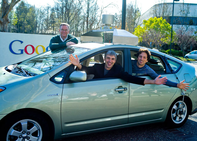 无人驾驶汽车 车企与科技巨头的博弈高清图片