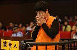 杭州萧山大火放火者庭审现场痛哭