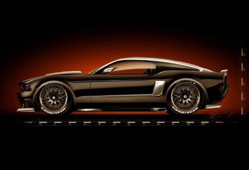 福特野马三款改装车将亮相SEMA车展高清图片