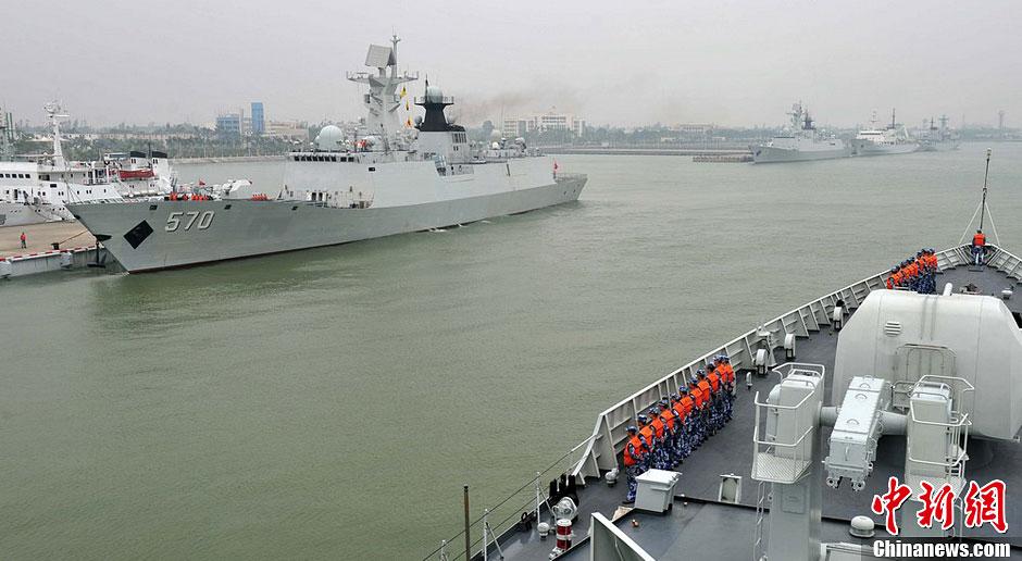 三大舰队参演兵力前出西太平洋