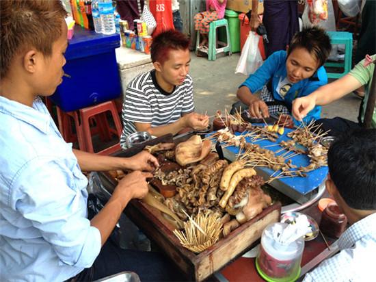 吃喝在缅甸美食爱好者的朝圣之旅nuwaraeliya美食图片