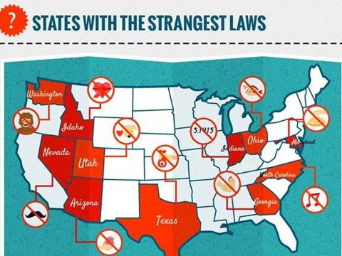 世界很欢乐:美国奇葩法律搞怪集合
