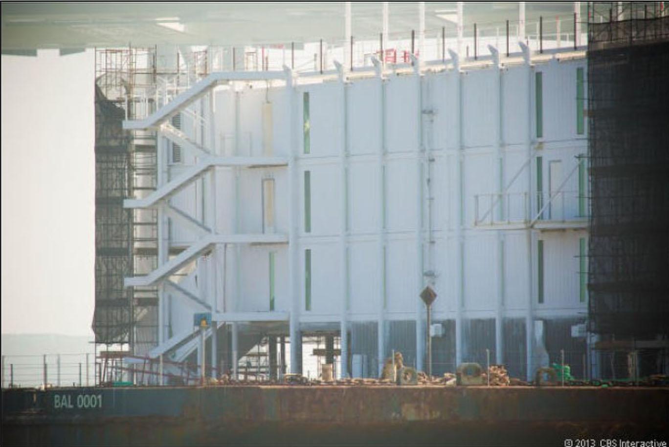 谷歌/谷歌机密项目曝光:或为海上浮动数据中心(13/17)