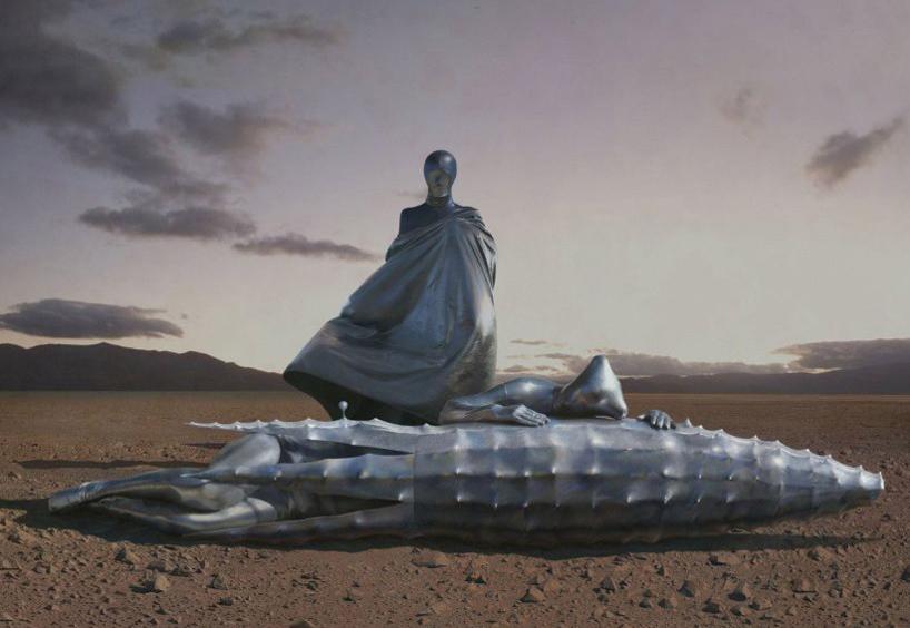 观念摄影:火星-漂流在沙漏海