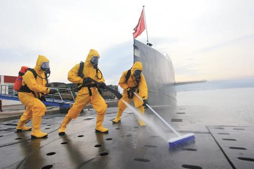 中国核潜艇令西方专家眼冒金光 猜是针对某国