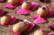 """小土豆的时髦""""假期"""""""