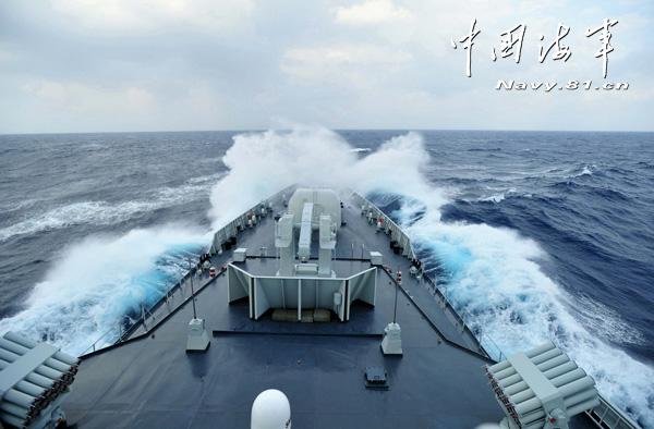 简氏称中国海军最大演习最大看点并非新装备