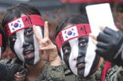 韩国女特种兵训练时各种自拍