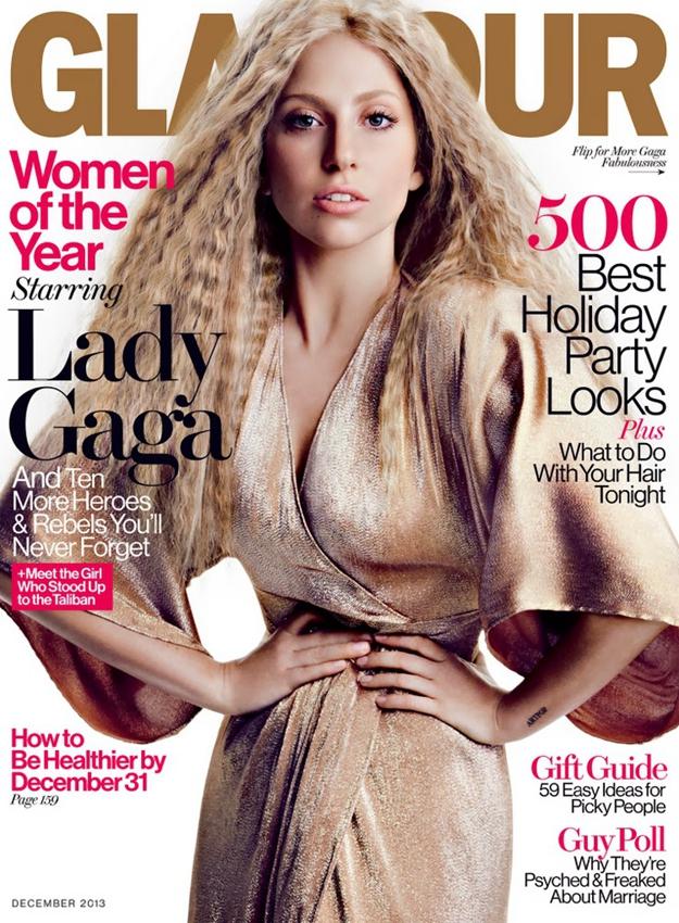 Lady Gaga拍杂志大片造型怪异