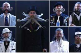 德国举办胡子大赛