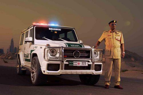 警用奔驰g63 amg即将亮相迪拜车展 环 高清图片