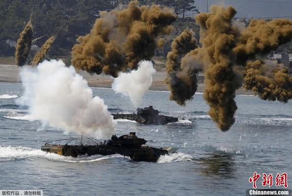 韩军费是朝34倍军力仅8成?得靠美军才能获胜