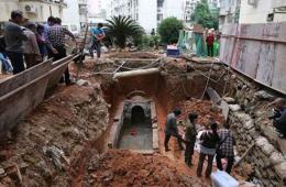 福州一小区建电梯挖出唐代古墓