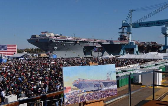 中国可调整造舰计划 借鉴福特级航母跨越发展