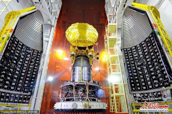 外媒称印火星探测器出故障 印方否认遭遇挫折
