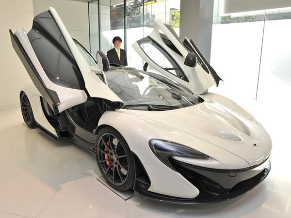 迈凯轮跑车价格_迈凯轮全新概念跑车P1华丽亮相大阪_汽车_环球网