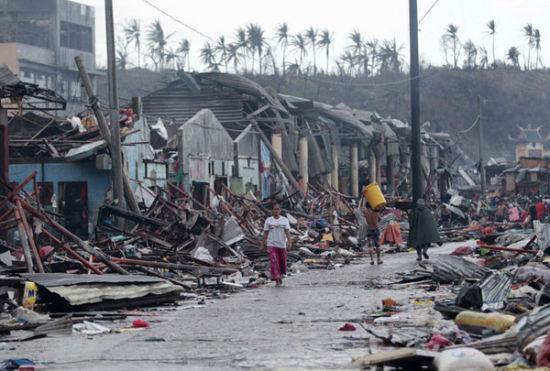 中国援助菲律宾10万美元 美方称明显比以往少