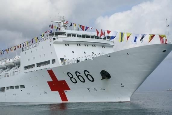 美将领:乐见解放军援菲 可派和平方舟医院船