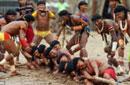 巴西原住民运动会开锣
