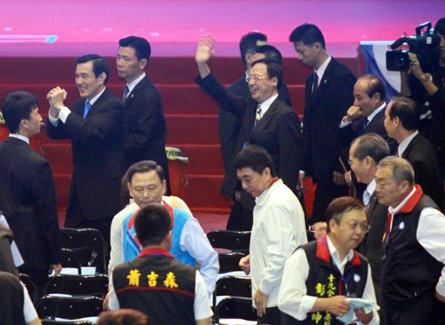 高清大图回顾国民党19全 蓝营大佬悉数出席