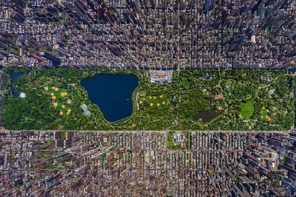 20张照片告诉你上帝怎样看地球