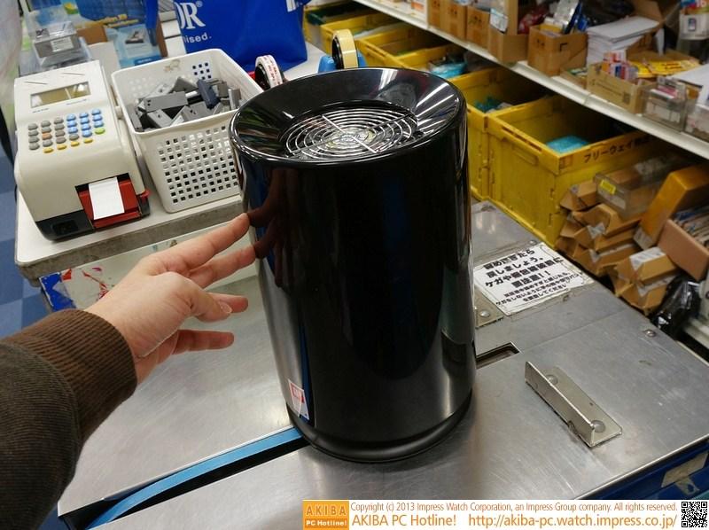 垃圾桶改装 山寨版mac pro机箱来了