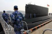 解放军最新战略导弹试验艇曝光