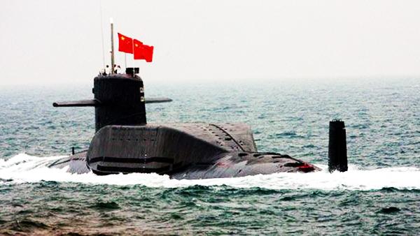 """社评:""""中国潜射导弹威胁论""""有一点挺好"""