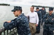 美军濒海舰3周故障2次坚持军演