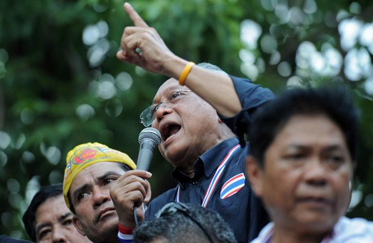 泰国反政府示威占领财政部 英拉拒绝下台
