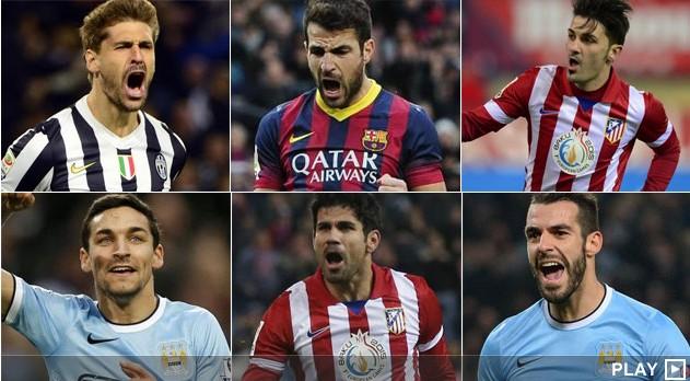 西班牙前锋集体爆发 为2014世界杯发起冲刺