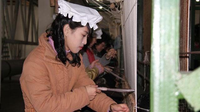 朝鲜偷渡女在中国丹东