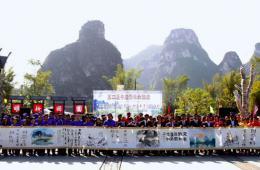中越青年大联欢 63米长卷挥毫泼墨共绘美好未来