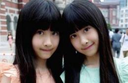 台湾萝莉双胞胎萌照网络爆红