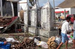菲莱特岛日籍市民呼吁自卫队修复旧日军慰灵碑