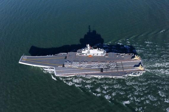 辽宁舰赴南海 传日本自卫队计划跟踪中国航母