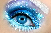 以色列化妆师眼皮上描画梦幻童话