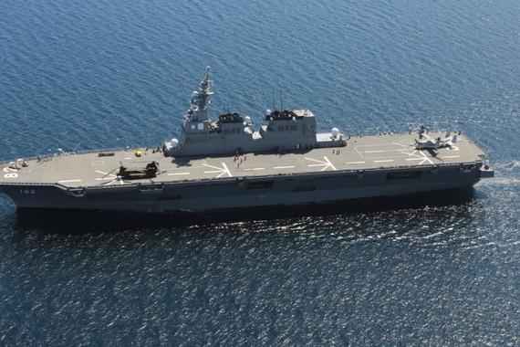中美日三国航母南海齐聚 南海争夺日趋白热化
