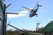 解放军直-8在菲律宾天空翱翔