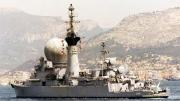"""法国海军退役驱逐舰""""顶个球"""""""