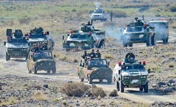 日媒:中国面临上合挑战 中亚存在战争的可能